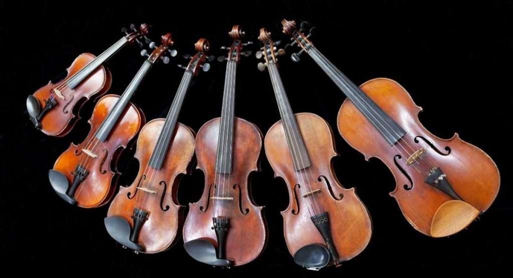 Choose Violin Size